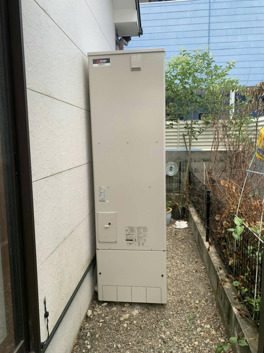 エコキュート交換工事(姫路市) 三菱SRT-W464