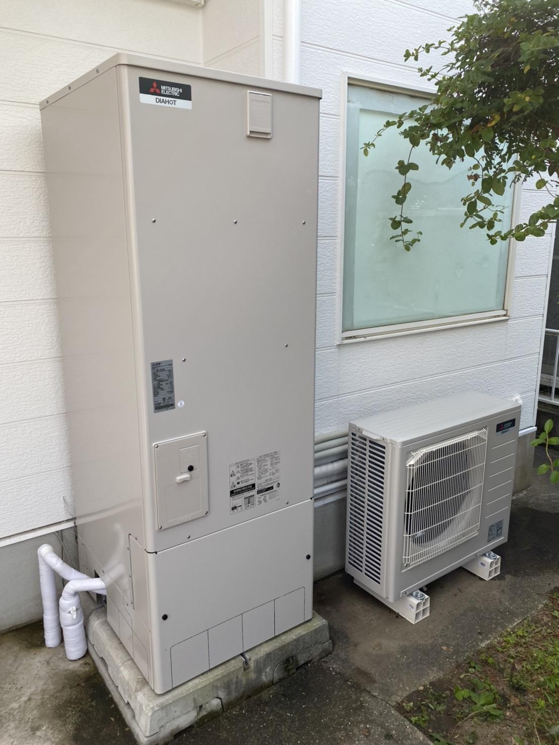 エコキュート交換工事 姫路 (三菱SRT-W374 Aシリーズ)